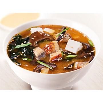Мисо суп с угрём