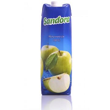 Сок Sandora Яблочный (1 л)