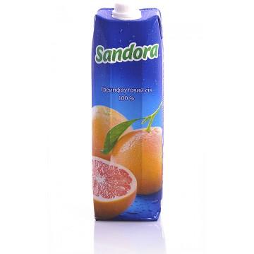 Сок Sandora Грейпфрутовый (1 л)