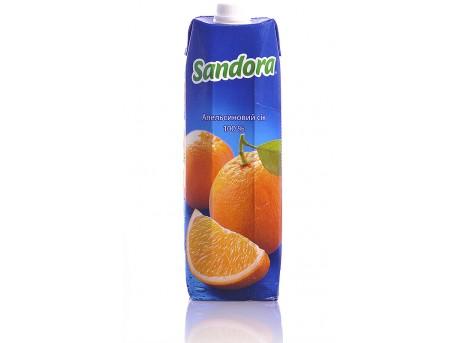 Сок Sandora Апельсиновый (1 л)